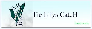 Tie Lilys CatcH logo, tlcH - lily of the valley and cat