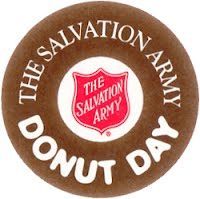 Donut Day in honour of The Salvation Army Lasses 2nd June 2017